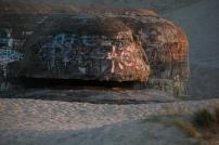 Un des premiers blockaus visibles issus de l'organisation Todt, groupe de génie civil et militaire de l'Allemagne nazie.