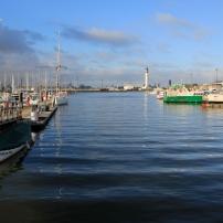 Vue générale du Bassin, à l'endroit même où le Chantier Naval lançait ses bateaux