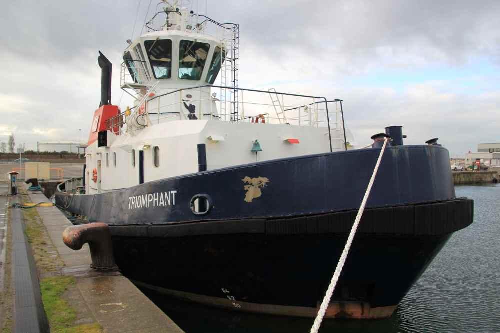 Dunkerque - le port industriel, Bassin Freycinet (4/6)