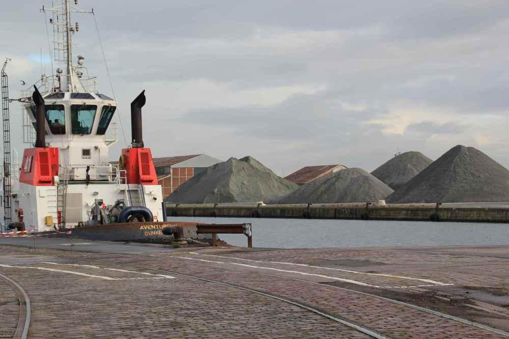 Dunkerque - le port industriel, Bassin Freycinet (5/6)