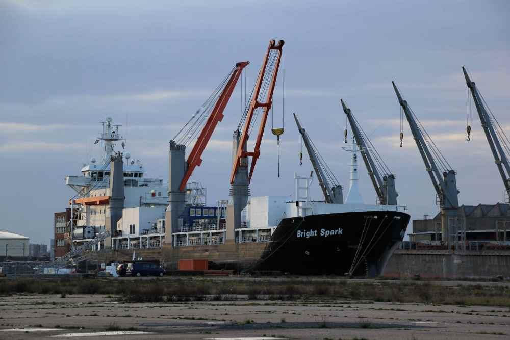 Dunkerque - le port industriel, Bassin Freycinet (3/6)