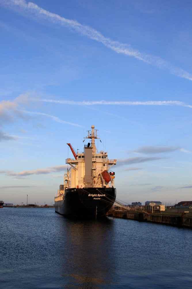 Dunkerque - le port industriel, Bassin Freycinet (2/6)