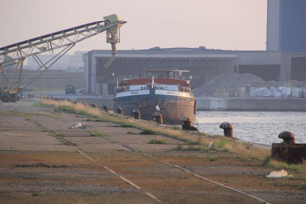 Dunkerque - le port industriel, Bassin Freycinet (6/6)