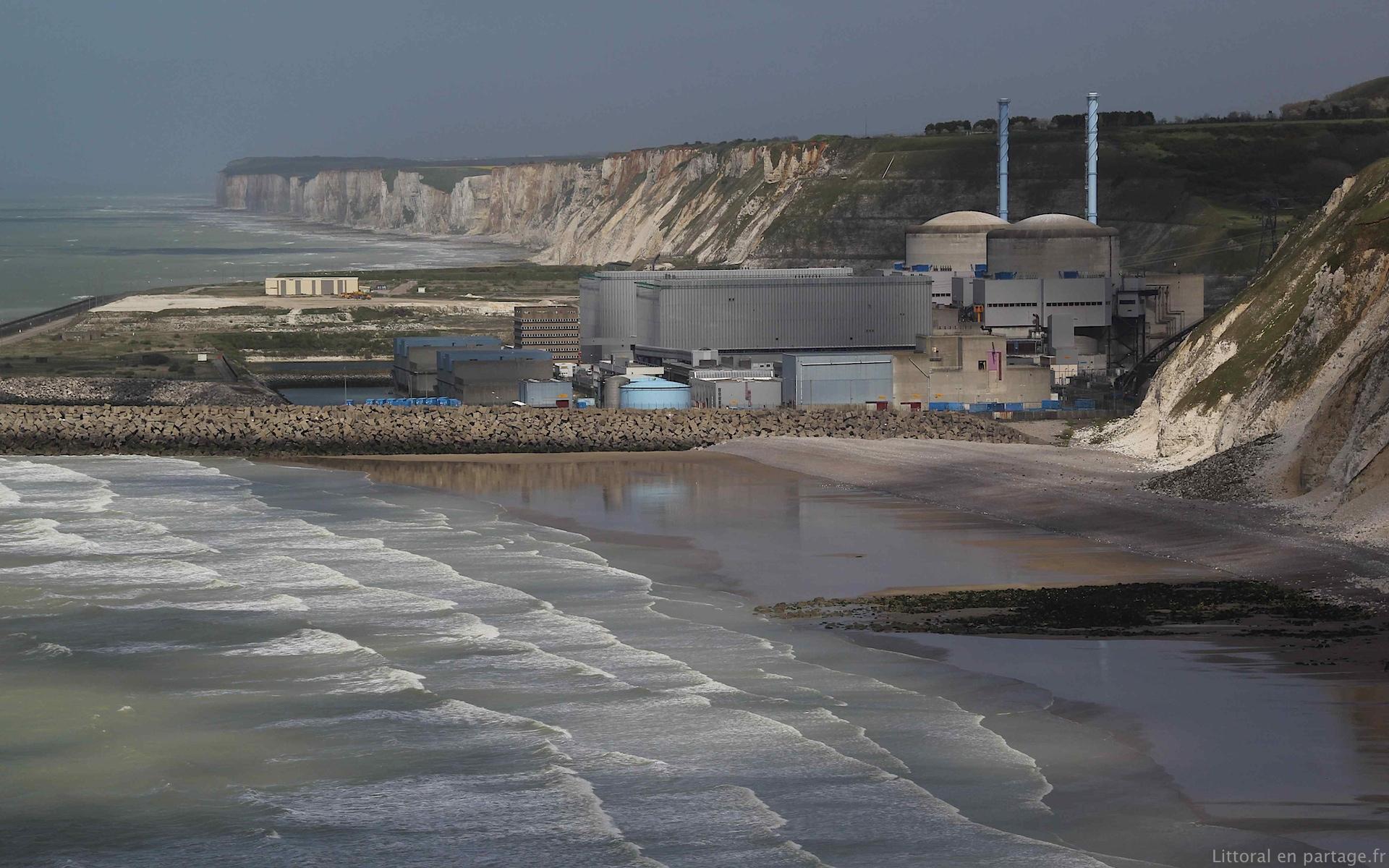 Dossier 7 le nucl aire et la mer littoral en partage - La cote la centrale ...