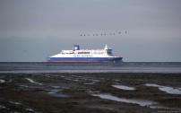 La liaison trans Manche en direction de Dunkerque