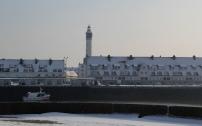 Le Courgain et le le phare de Calais