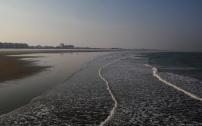 La plage.